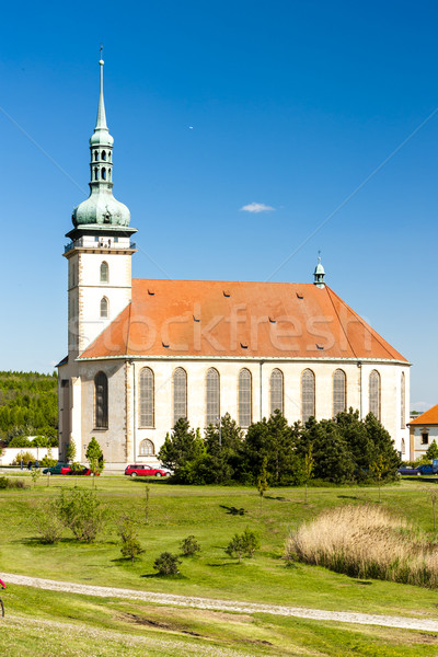 Церкви предположение Чешская республика архитектура Европа история Сток-фото © phbcz