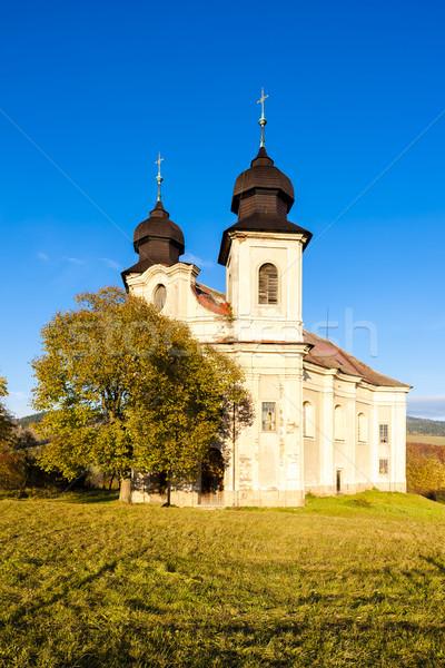 church of Saint Margaret, Sonov near Broumov, Czech Republic Stock photo © phbcz