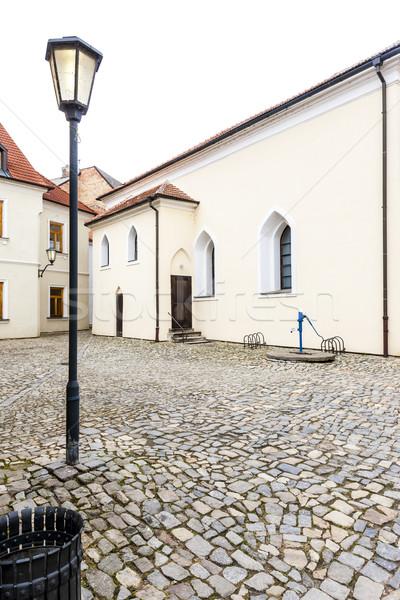 Sinagoga trimestre República Checa igreja arquitetura Foto stock © phbcz