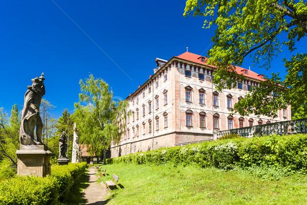 Libochovice Palace, Czech Republic Stock photo © phbcz