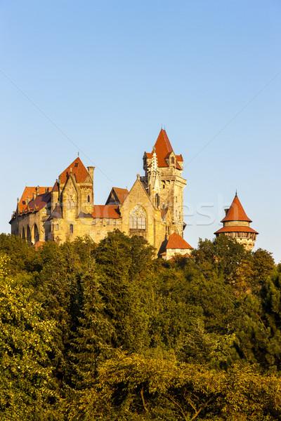 Castello abbassare Austria viaggio architettura Foto d'archivio © phbcz