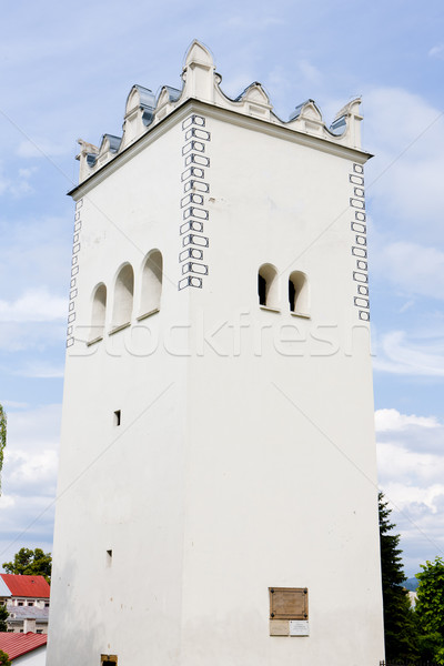 Stock photo: renaissance belfry, Spisska Bela, Slovakia
