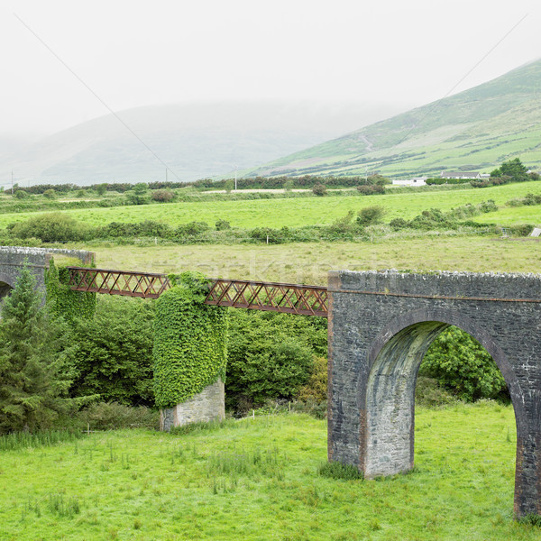viaduct, Lispole, County Kerry, Ireland Stock photo © phbcz