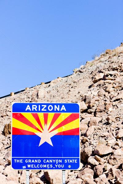 にログイン アリゾナ州 国境 米国 ストックフォト © phbcz