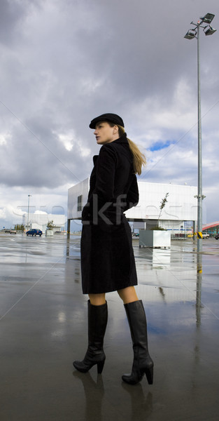 woman in the city Stock photo © phbcz