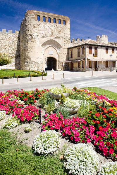 Coca, Segovia Province, Castile and Leon, Spain Stock photo © phbcz