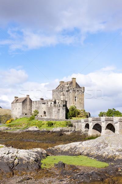 Eilean Donan Castle, Scotland Stock photo © phbcz