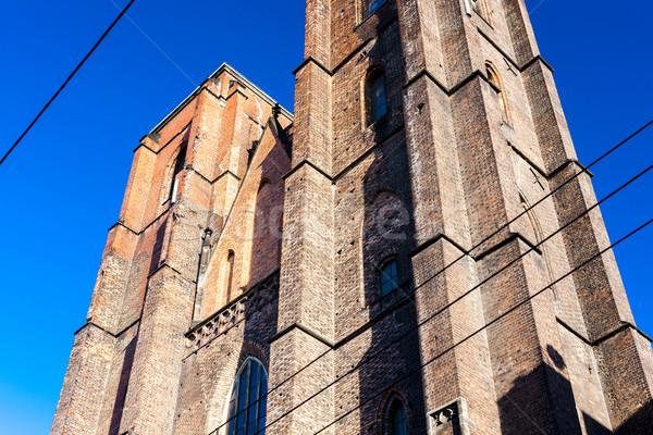 Church of Mary Magdalene, Wroclaw, Silesia, Poland Stock photo © phbcz