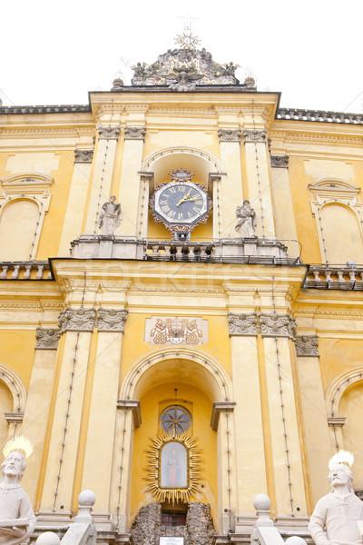 Bedevaart kerk Polen reizen gebouwen architectuur Stockfoto © phbcz