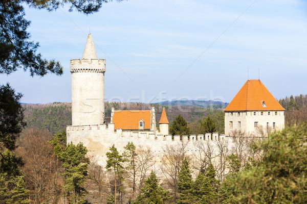 Château République tchèque Voyage architecture tour extérieur Photo stock © phbcz