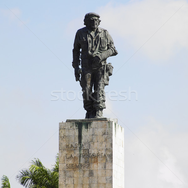 La revolutie Cuba standbeeld Stockfoto © phbcz