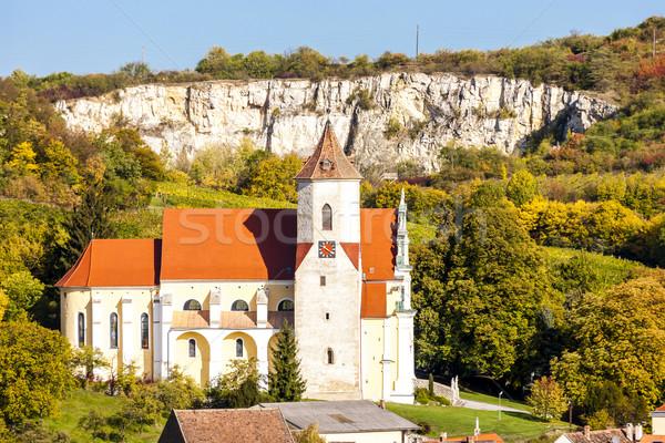 Chiesa abbassare Austria costruzione architettura Europa Foto d'archivio © phbcz