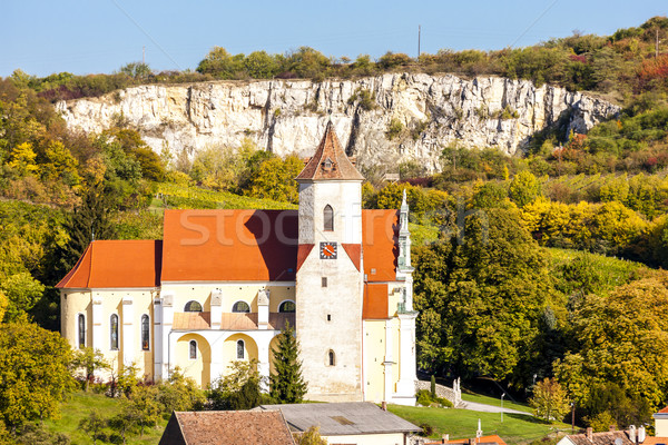 Iglesia bajar Austria edificio arquitectura Europa Foto stock © phbcz