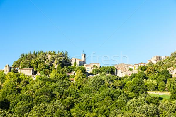 Ampus, Provence, France Stock photo © phbcz