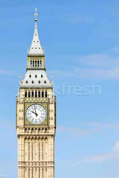 Big Ben Londyn wielka brytania miasta zegar podróży Zdjęcia stock © phbcz