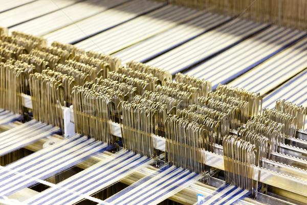 繊維 マシン 技術 業界 工場 ストックフォト © phbcz