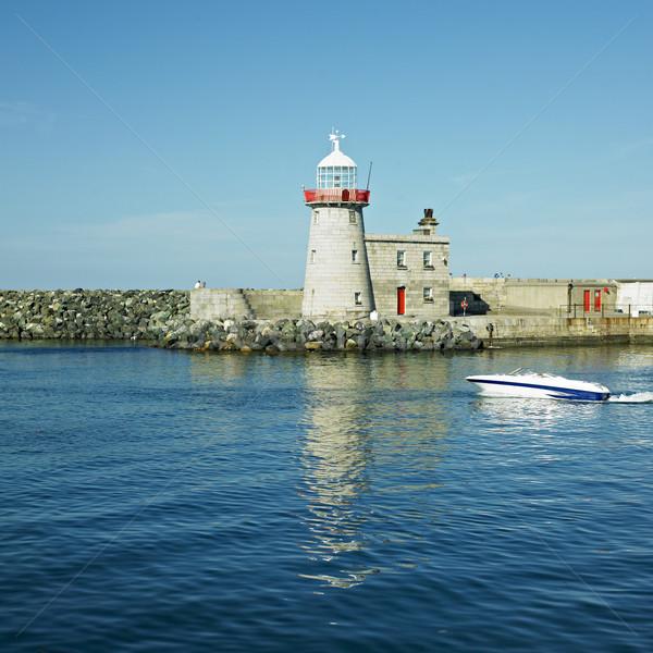 lighthouse, Howth, County Dublin, Ireland Stock photo © phbcz