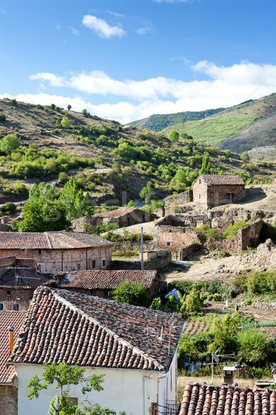 Villavelayo, La Rioja, Spain Stock photo © phbcz