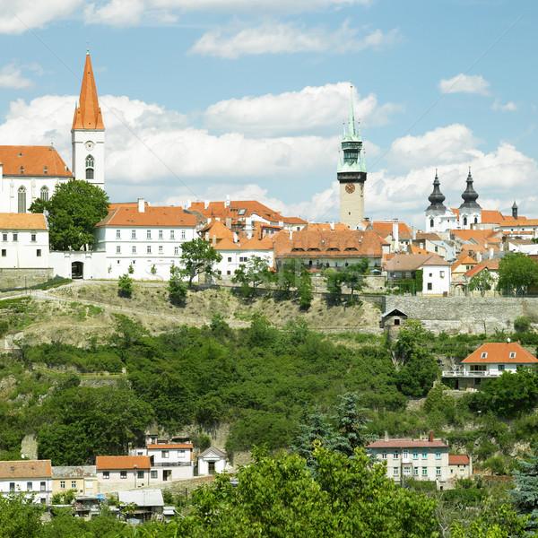 République tchèque maison bâtiment ville architecture histoire Photo stock © phbcz