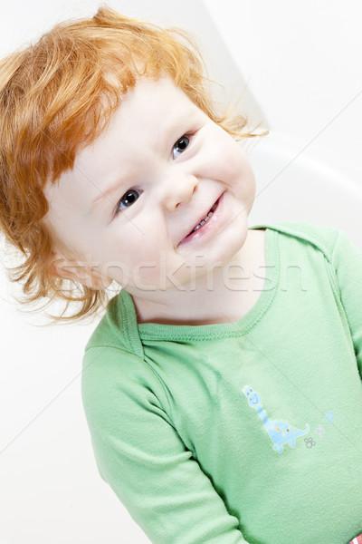 portrait of little boy Stock photo © phbcz