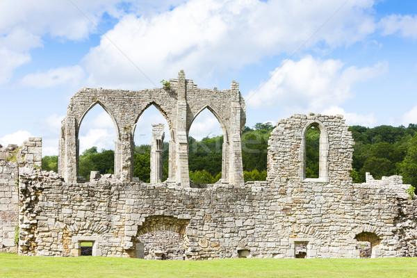 Ruinen Abtei england Gebäude Architektur gotischen Stock foto © phbcz