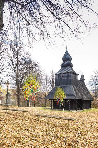 Igreja Eslováquia arquitetura europa história Foto stock © phbcz