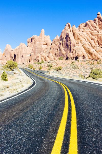 Park Utah USA landschap reizen rotsen Stockfoto © phbcz
