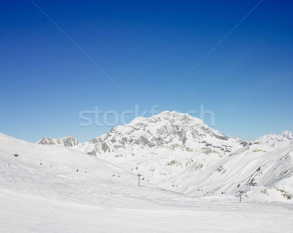 Alps Mountains, Savoie, France Stock photo © phbcz