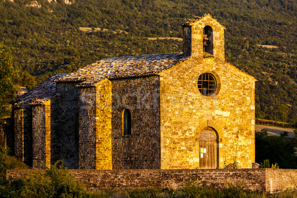 Chapel St. Jean de Crupies, Rhone-Alpes, France Stock photo © phbcz