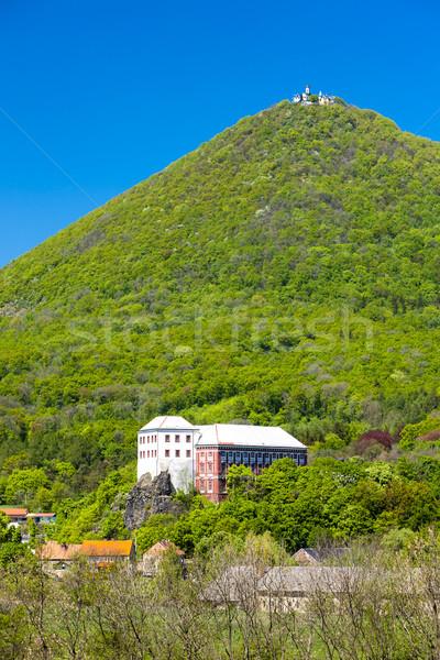 Milesov Palace and observatory on Milesovka, Ceske stredohori, C Stock photo © phbcz