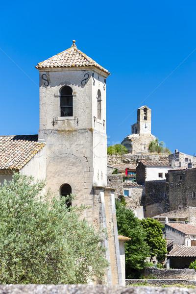 Lourmarin, Provence, France Stock photo © phbcz