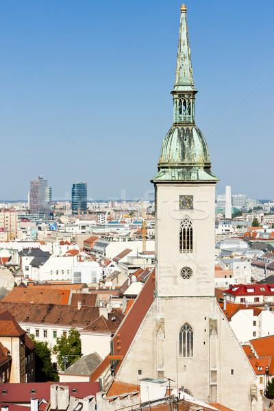 Katedral aziz Bratislava Slovakya şehir kilise Stok fotoğraf © phbcz