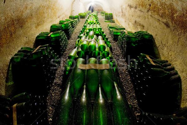 ワイン アーカイブ ワイナリー チェコ共和国 ドリンク アルコール ストックフォト © phbcz
