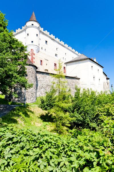 Castelo Eslováquia viajar arquitetura história ao ar livre Foto stock © phbcz