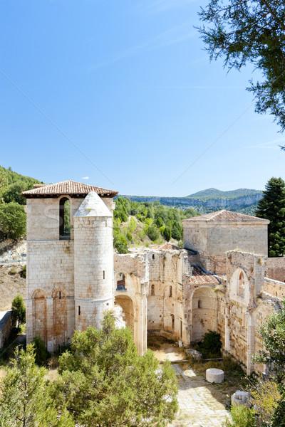 San Pedro de Arlanza Monastery, Castile and Leon, Spain Stock photo © phbcz