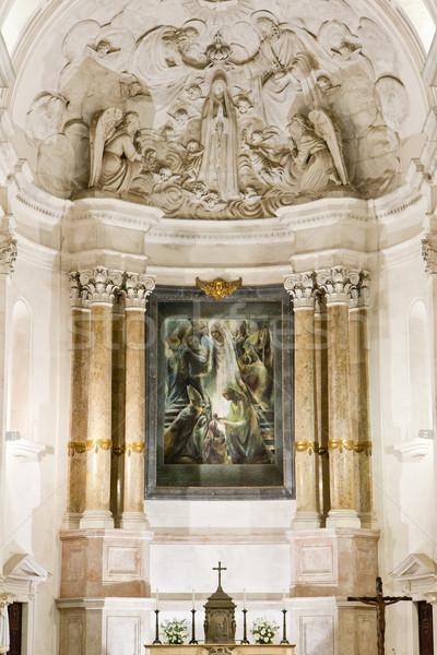 interior of Sanctuary of Our Lady of Fatima, Fatima, Estremadura Stock photo © phbcz