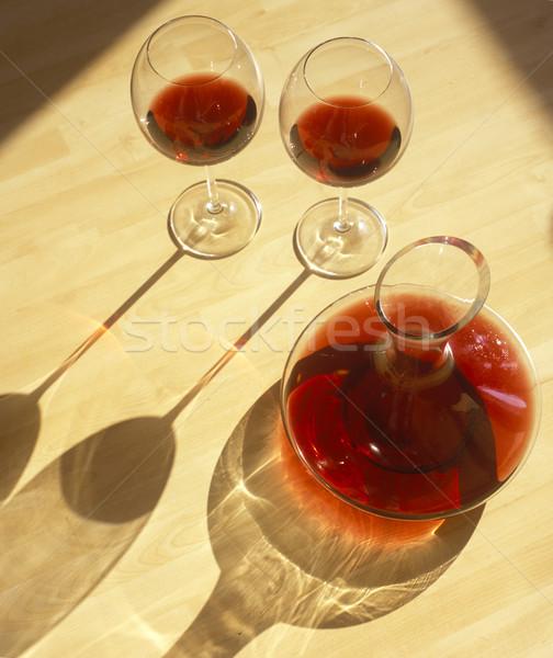 red wine still life Stock photo © phbcz
