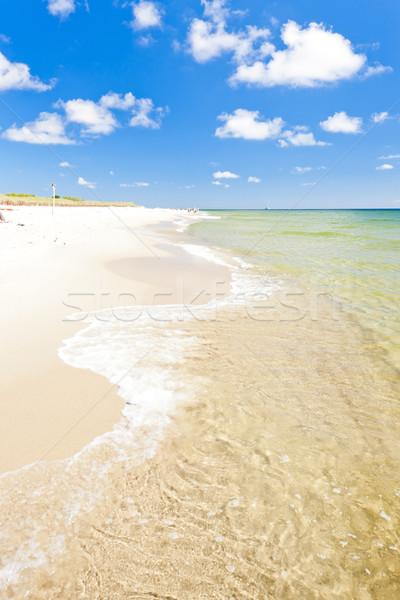 ビーチ 半島 ポーランド 海 夏 雲 ストックフォト © phbcz