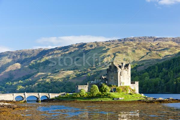 Castelo escócia viajar montanhas arquitetura história Foto stock © phbcz