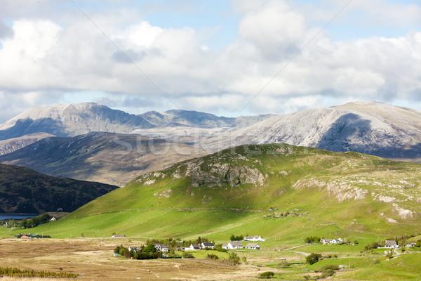 Escócia paisagem montanhas europa silêncio Foto stock © phbcz