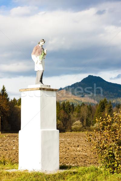 Standbeeld Slowakije kunst Europa sculptuur Stockfoto © phbcz