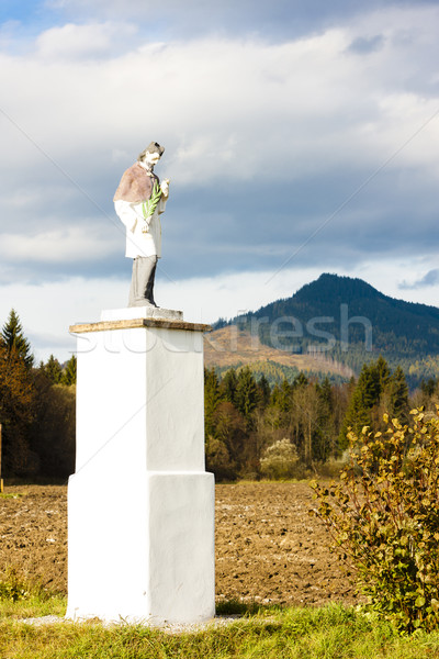 statue of saint, Liptovske Matiasovce, Slovakia Stock photo © phbcz