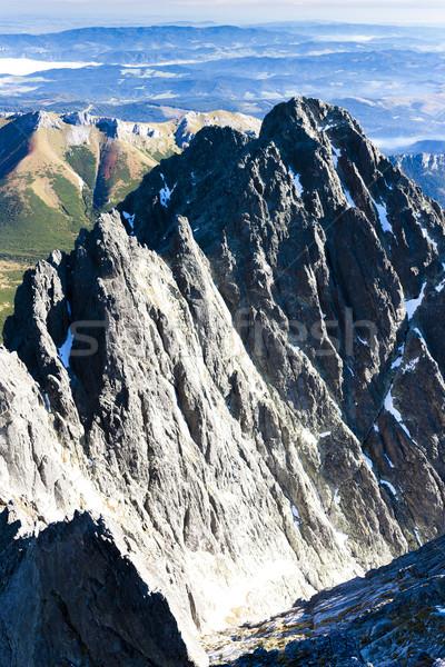 表示 ピーク 高い スロバキア 風景 ヨーロッパ ストックフォト © phbcz