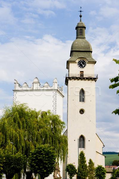 St. Anthony''s church and belfry, Spisska Bela, Slovakia Stock photo © phbcz