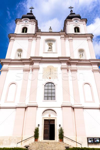 Bedevaart kerk verlagen Oostenrijk gebouw reizen Stockfoto © phbcz