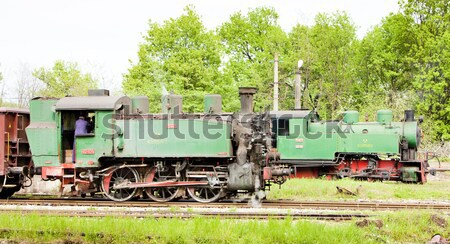 electric freight train, Kolubara, Serbia Stock photo © phbcz
