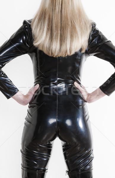Сток-фото: подробность · Постоянный · женщину · экстравагантный · одежды