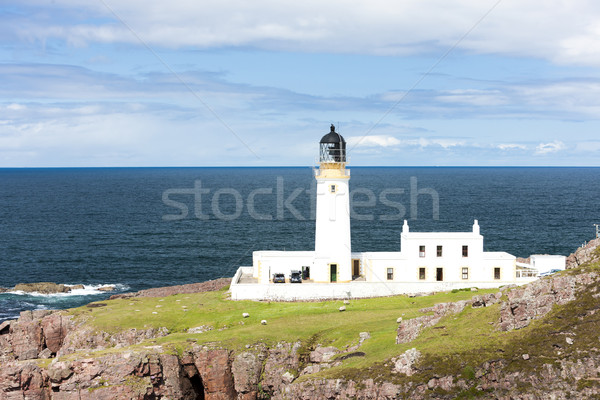 Rubha Reidh Lighthouse, Highlands, Scotland Stock photo © phbcz