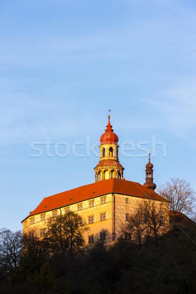 Palazzo Repubblica Ceca costruzione viaggio architettura Europa Foto d'archivio © phbcz