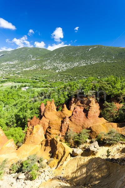 Колорадо Франция путешествия рок Европа декораций Сток-фото © phbcz